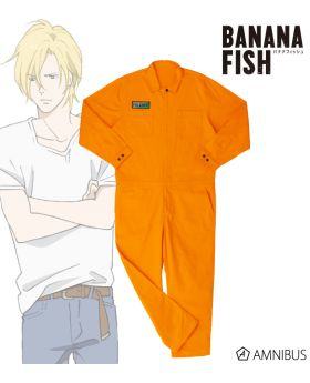 BANANA FISH Amnibus Limited Edition Orange Overall Mens Size