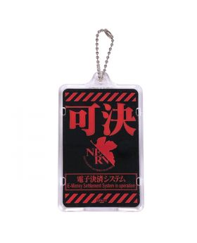 Evangelion Store Official Light Up PIICA IC Card Holder MONITOR