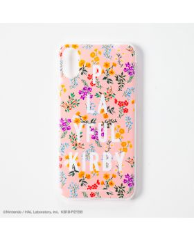 Kirby Playful Kirby iPhone X/XS Case Flower Print Pink