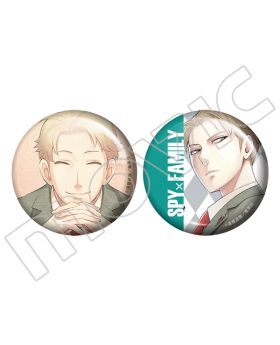 Spy x Family Movic Can Badge Set Loid Forger