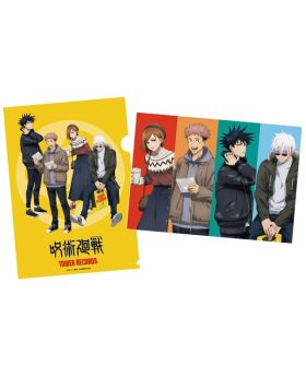 Jujutsu Kaisen x Tower Records Pop Up Shop Clear File