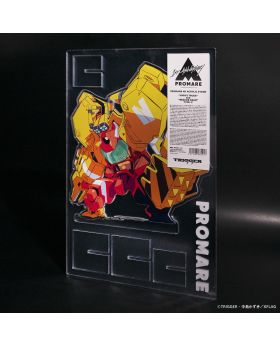 PROMARE TRIGGER Exclusive 4D Giant Acrylic Stand Varys and Rescue Gear Type-V