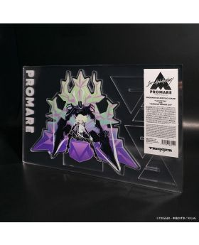 PROMARE TRIGGER Exclusive 4D Giant Acrylic Stand Lio Fotia and Burnish Armor