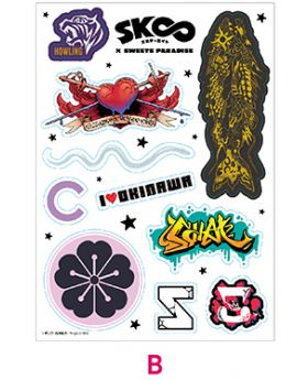 SK8 The Infinity x Sweets Paradise Collaboration Goods Sticker Sheet B