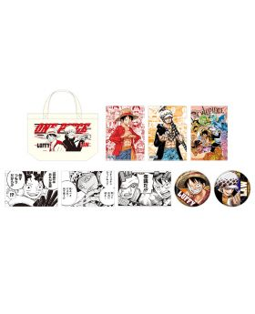 One Piece Jump Festa 2020 Tote Bag Set Luffy and Law