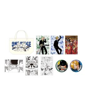 One Piece Jump Festa 2020 Tote Bag Set Zoro and Sanji