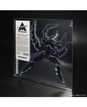PROMARE TRIGGER Exclusive 4D Giant Acrylic Stand Burnish Armor Meis