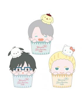 Yuri On Ice Cafe Online Goods Plush Pouch