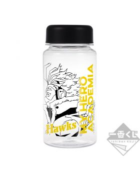 Ichiban Kuji Boku No Hero Academia I'M READY Kuji Game INDIVIDUAL Clear Bottle Hawks