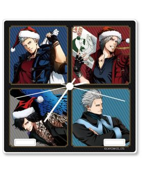 Devil May Cry 5 x Capcom Store Xmas Acrylic Clock