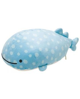 "Large San-X ""Jinbei-San"" Mr. Whale Shark Plush"