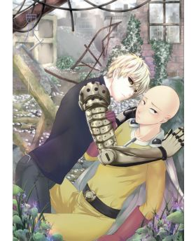 The Devil is This Way Saitama/Genos Doujinshi