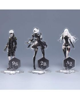 NieR Automata Square Enix Cafe Goods Acrylic Stands