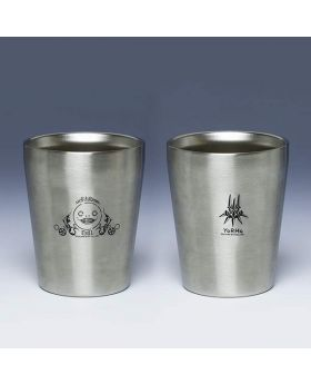 NieR Automata Square Enix Cafe Goods Stainless 330ml Steel Tumblers