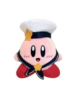 Kirby 25th Anniversary Sailor Outfit Game Center Large Prize Plush