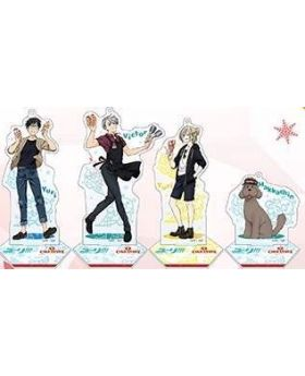 Yuri On Ice Coldstone Creamery Collab Goods Acrylic Stands