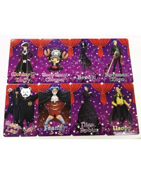One Piece Tokyo Tower Halloween Collab Goods Cards