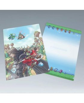Dragon Quest X Square Enix Cafe Goods Clear Files