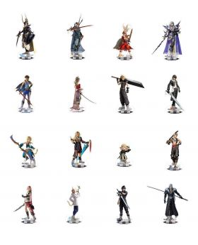 Final Fantasy Dissidia Square Enix Store Exclusive Acrylic Stands