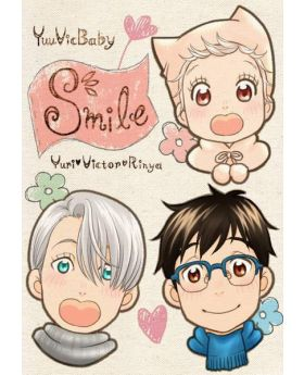 Yuri On Ice Doujinshi Smile by K2COMPANY