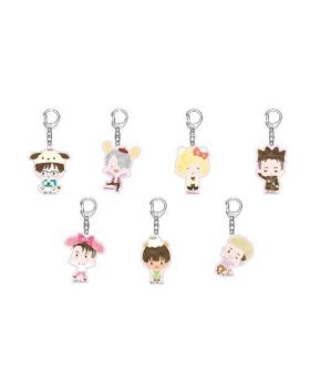Yuri On Ice Sanrio Characters Spring Festival Tokyu Hands Collaboration Keychains BLIND PACKS