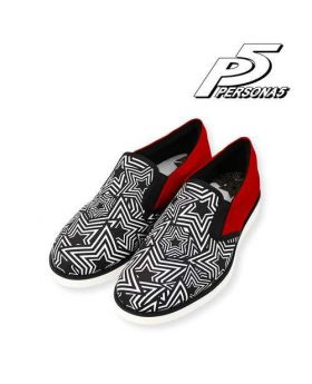 Persona 5 Special Phantom Thieves Pattern Shoes