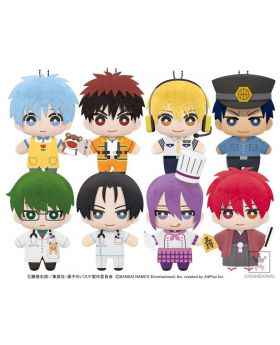Kuroko No Basket Tomonui Cross Colors Work Style Plush Strap Vol. 1 and 2