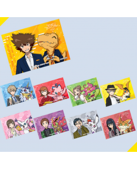 Digimon Adventure Tri Music Cafe in Ani On Station Final Party Goods Bromides