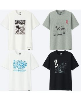 Shonen Jump 50th Anniversary x Uniqlo T-Shirts Dragon Ball Z Vol. 2