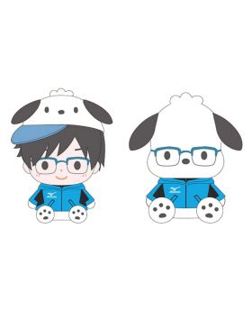 Yuri On Ice x Sanrio Characters Mizuno Training Days Special Event Goods Plush