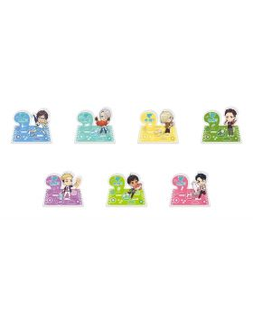 Yuri On Ice Saga On Ice Chibi Goods Acrylic Stands
