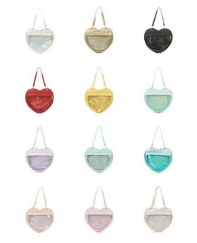 Heart Ita Bag Berry Q Handbag
