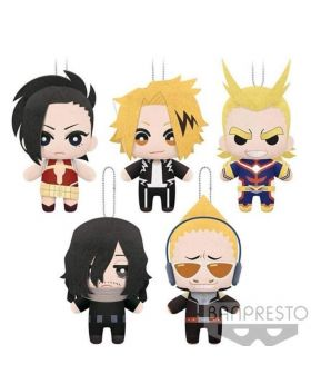 "Boku No Hero Academia Banpresto ""Tomonui"" Plush Keychains Vol. 3"