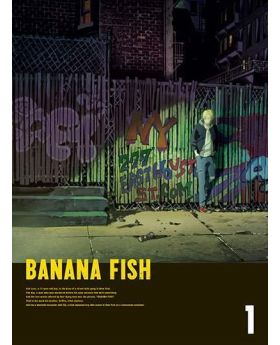 BANANA FISH Volume 1 BluRay/DVD Box Set Aniplex Special