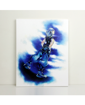 Kingdom Hearts Square Enix Store Limited Art Canvas Riku
