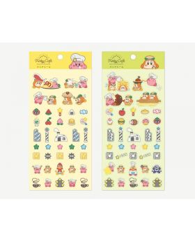 Kirby Cafe New Goods Sticker Sheet