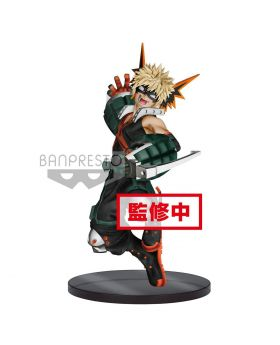 Boku No Hero Academia Banpresto THE AMAZING HEROES Figurine Vol. 3 Bakugou