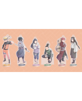 Naruto and Bond Ninja Tour in J-World Collaboration Goods Acrylic Stands