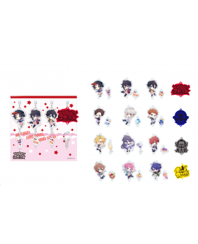 Hypnosis Mic Sweets Paradise Round 2 Collaboration Goods Acrylic Charm SET A