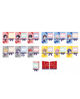 Hypnosis Mic Sweets Paradise Round 2 Collaboration Goods Ticket Clear File SETS