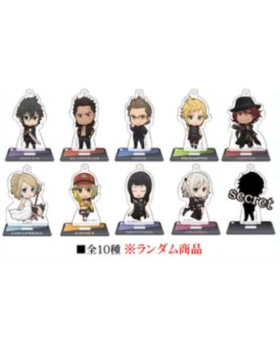 Final Fantasy XV Animate Store Tour Limited Edition Goods Acrylic Stands SET
