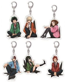 Boku No Hero Academia Jump Festa 2019 Animate Limited Edition Acrylic Charms