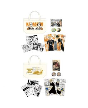 Haikyuu!! Jump Festa 2019 Original Goods Tote Bag Set