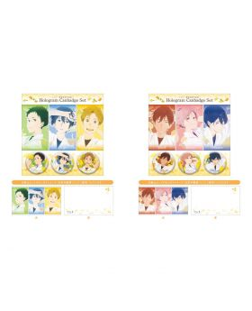 Tsurune KyoAni Comiket Goods Holographic Can Badge Set