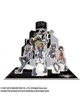 The World Ends With You Square Enix Cafe Goods Acrylic Dioarama Stand SECOND RESERVATION