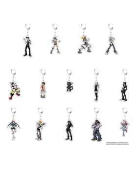 The World Ends With You Square Enix Cafe Goods Acrylic Keychains SECOND RESERVATION