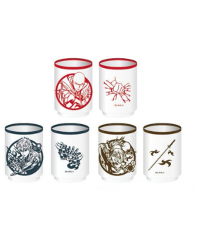 One Punch Man Jump Shop Limited Edition Tea Cups