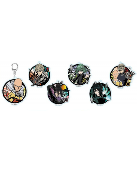 One Punch Man Jump Shop Limited Edition Acrylic Keychains