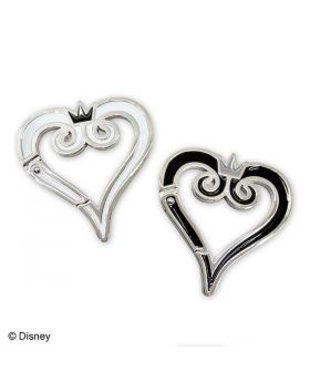 Kingdom Hearts 3 Square Enix Cafe Goods Carabiner Keychain Clip