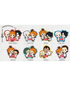 The Promised Neverland DUO Rubber Straps BLIND PACKS